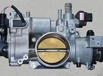 2000 Jaguar XJ8 Throttle Body TPS Assembly,  XJ8 & XJ8L, Non-supercharger